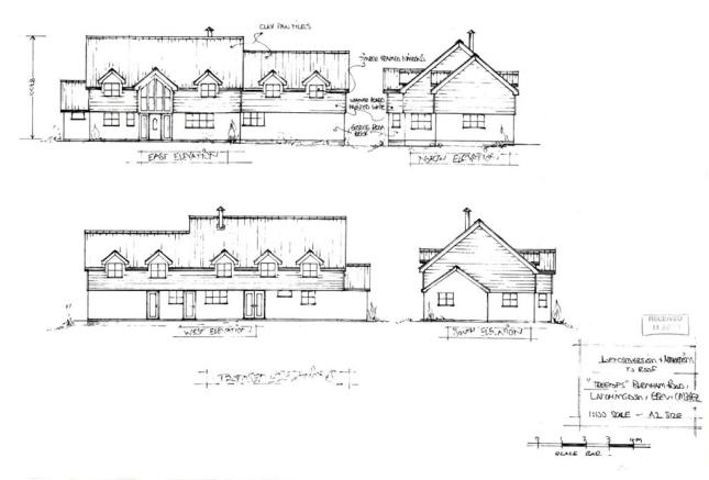 Treetops Planning Permission Elevation Drawings