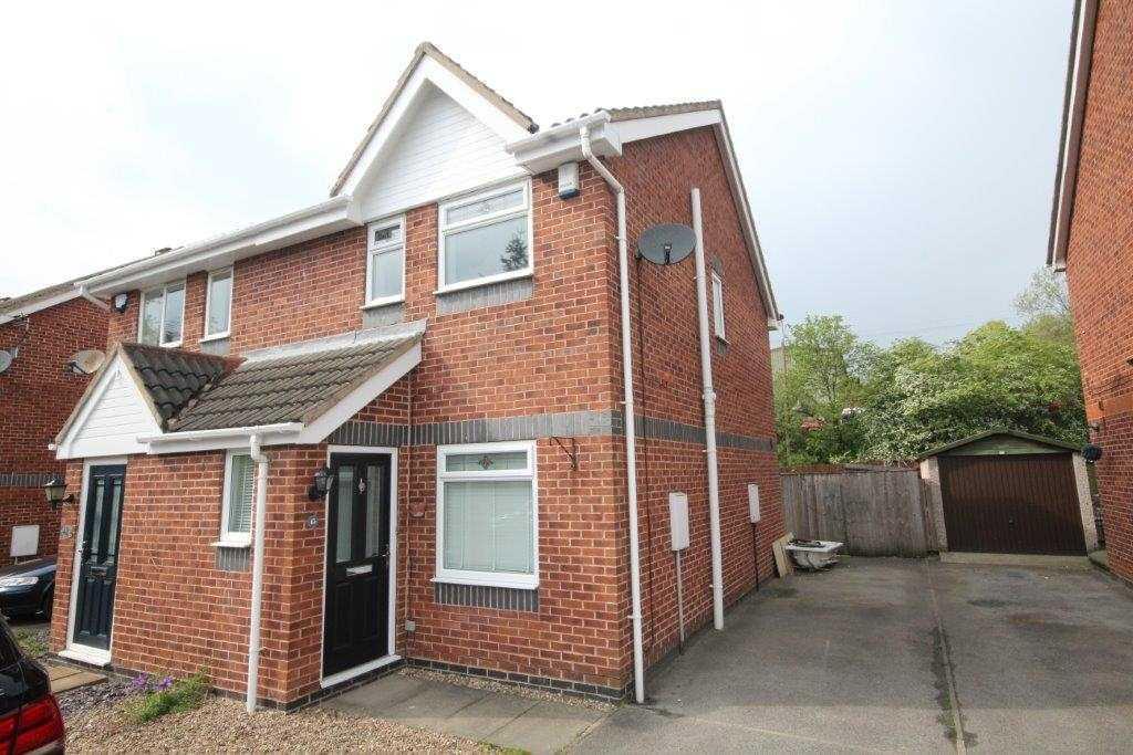 2 bedroom semi-detached house to rent 45 Marsland Court, Cleckheaton, BD19 4DB