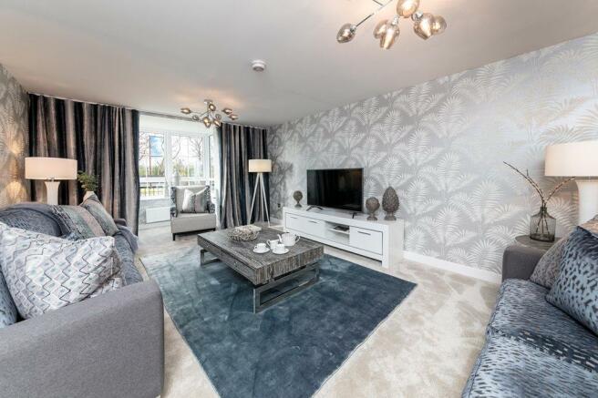 Balbardie Living room