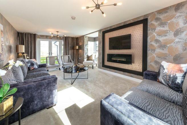 Strathmore living room