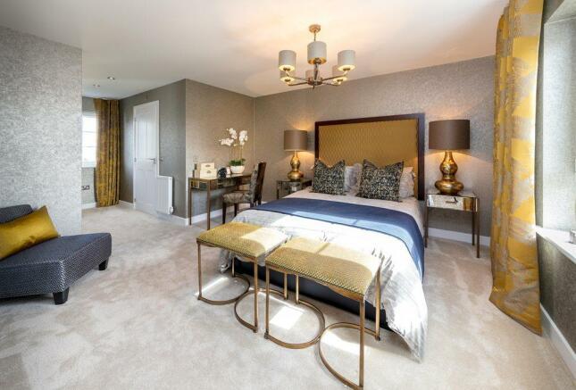Strathmore Master Bedroom
