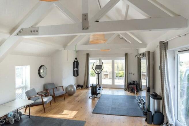 Gym/Pool House