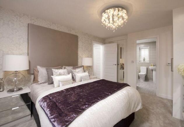Warwick master bedroom