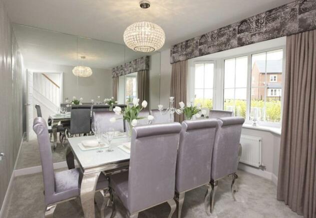 Warwick dining room