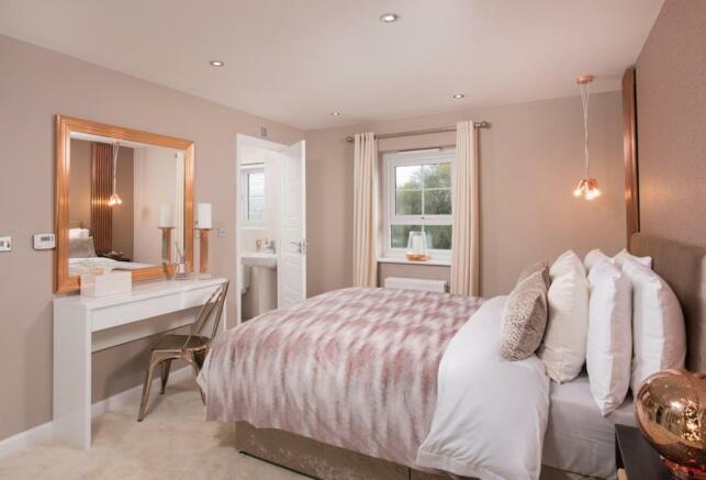 Lincoln master bedroom