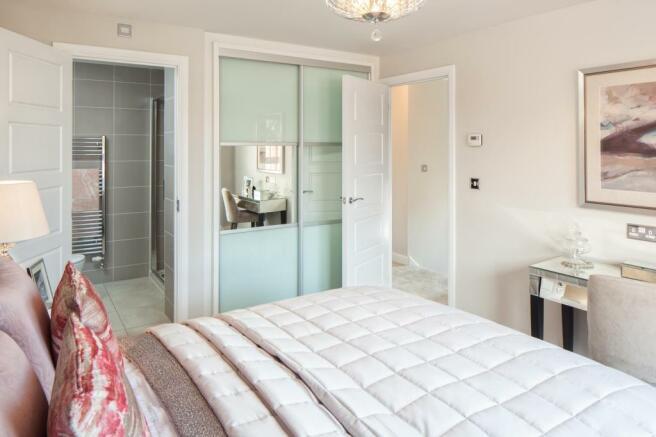 Chesham master bedroom