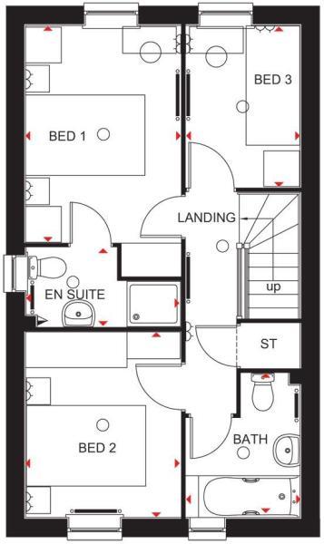 Barwick first floor plan