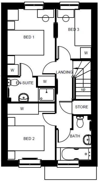 Barwick first floor