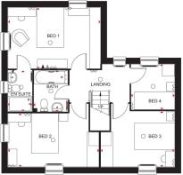 Lincoln first floor plan