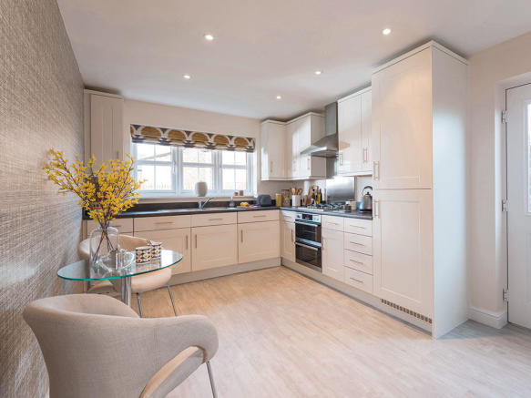 Fully integrated kitchen