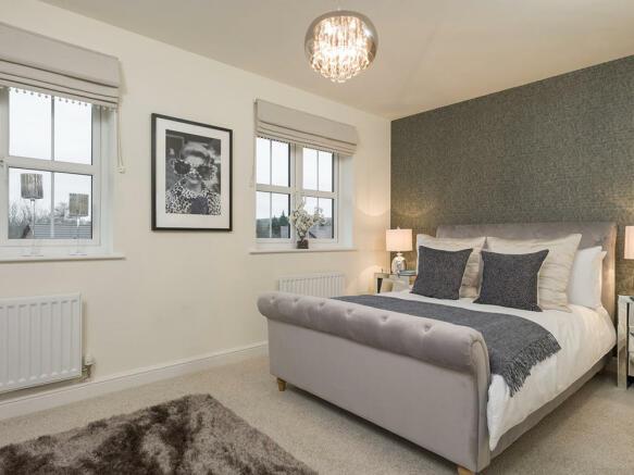 Superb double bedroom