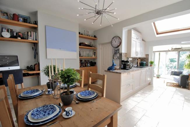 Open-Plan Kitchen/Dining/Living Spaces