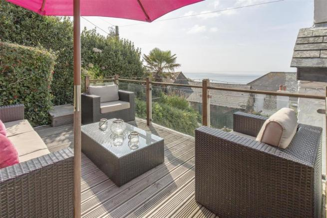 Decking with Sea Views