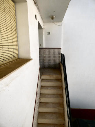 Outer stairs