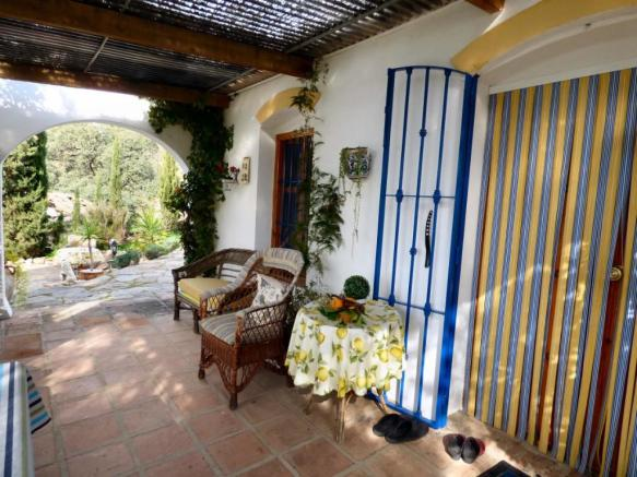 Traditional terrace