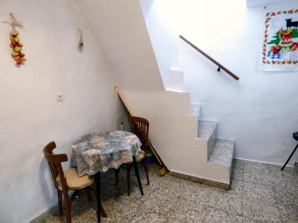 Stairs to terrace