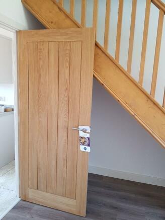 Oak Doors Downstairs
