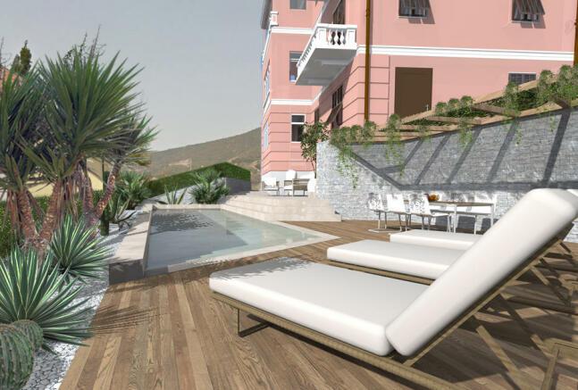 swim. pool rendering