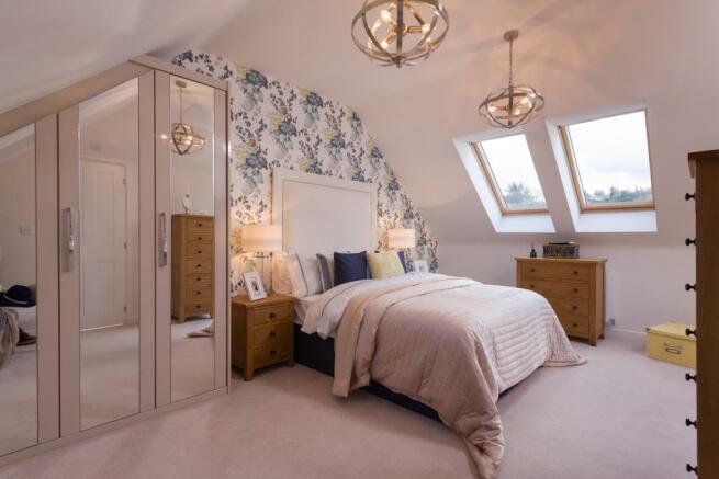 Second floor master bedroom with en suite
