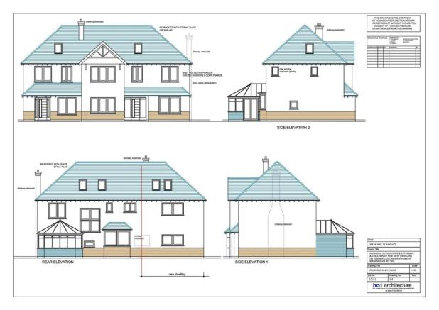 146 Elmdon Lane Marston Green Proposed Elevations