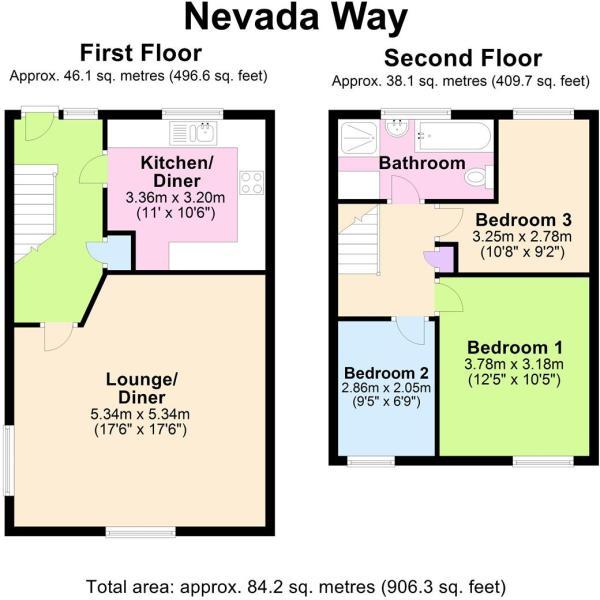 Nevada Way - Floorplan