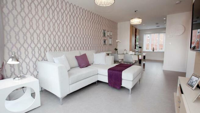 Open plan livingston by Avant Homes