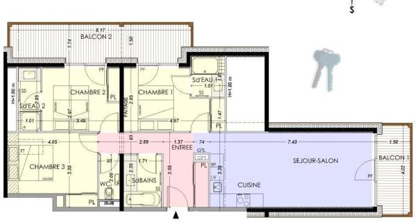 Example 3-bed