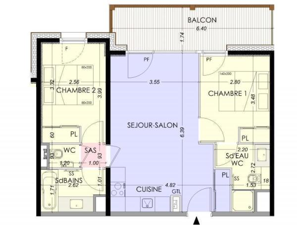Example 2-bed