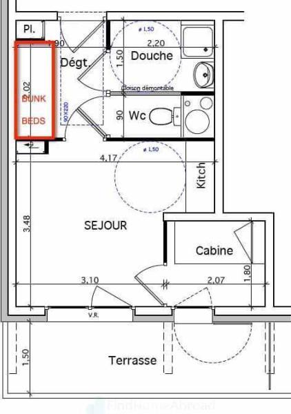 Example studio cabin