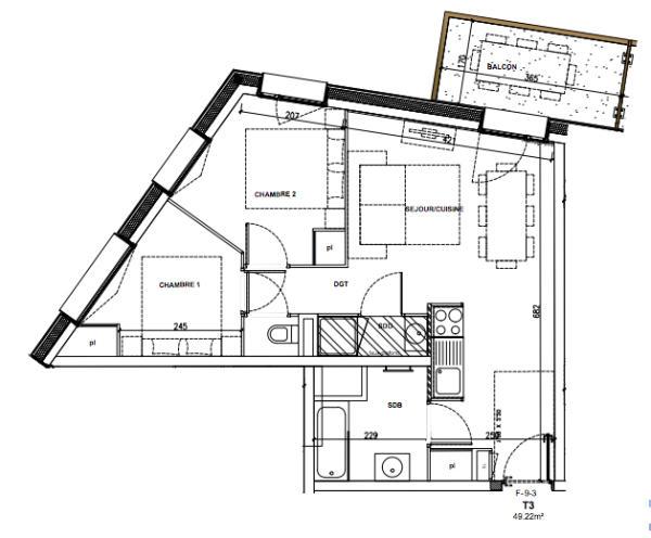 2-bed plan
