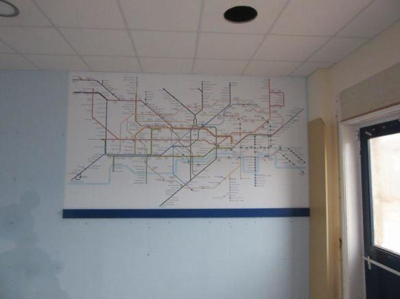 Map of Train R...