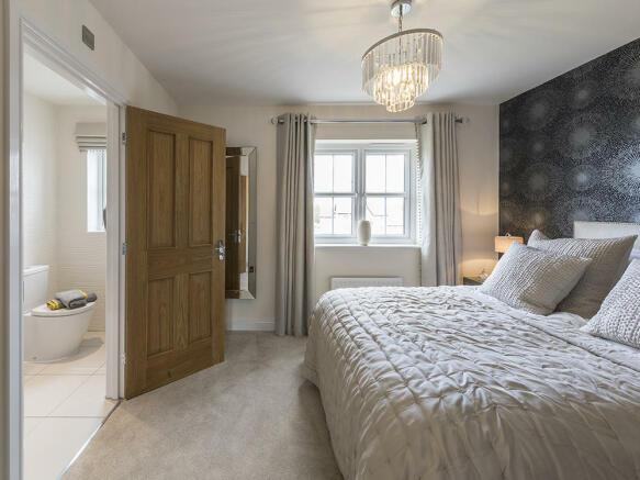 Beautiful double bedroom with en-suite