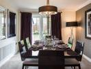 Dining room with French doors to rear garden