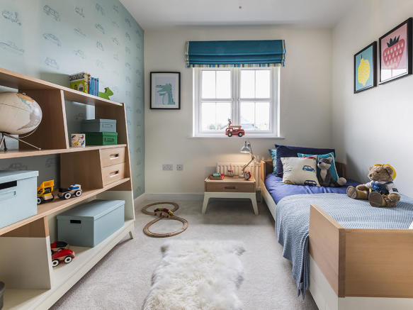 Perfectly sized kids bedroom