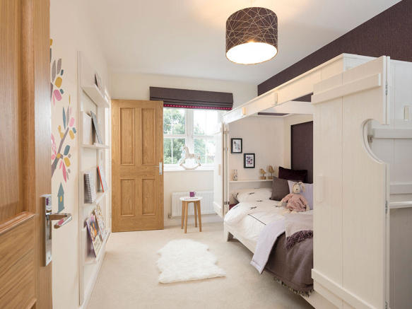 Spacious bedroom perfect for a growing family
