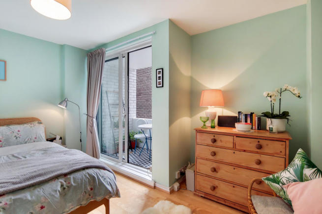 Second Bedroom with Balcony