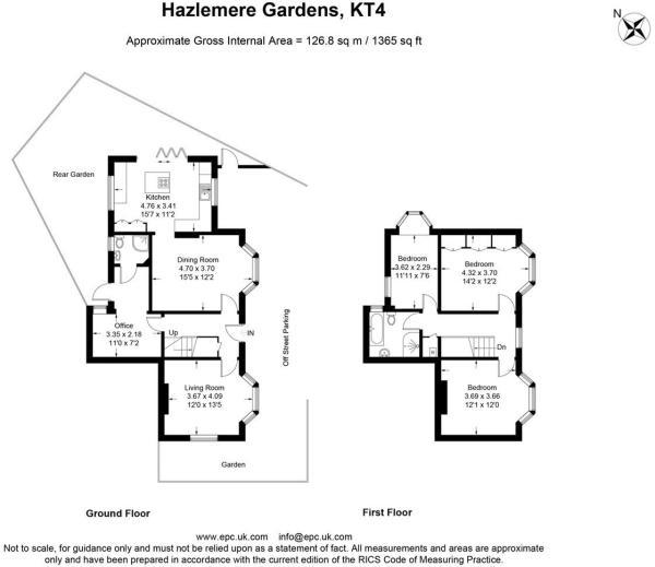 Hazlemere-Garden Floor Plan 247 Property Agent