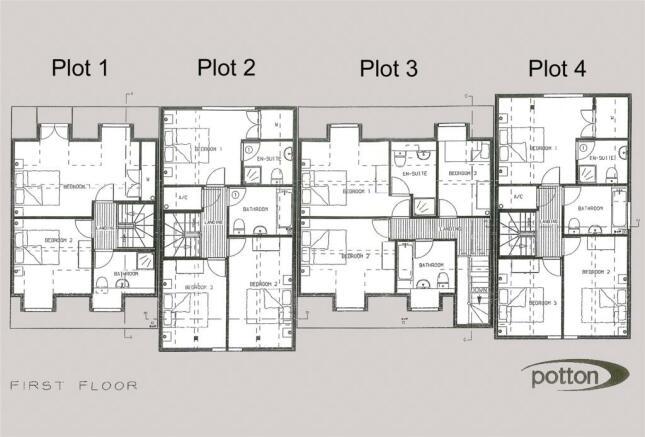 4 Cottges FF Plans