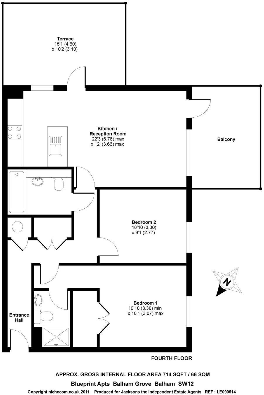 2 bedroom flat to rent in balham grove balham sw12 malvernweather Choice Image