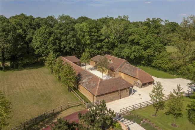 Aerial Of Stables