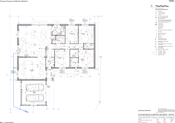 4330 WD 103 RevC Plot1 Ground Floor Plan.pdf