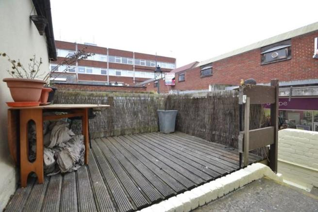 Decked Area to...