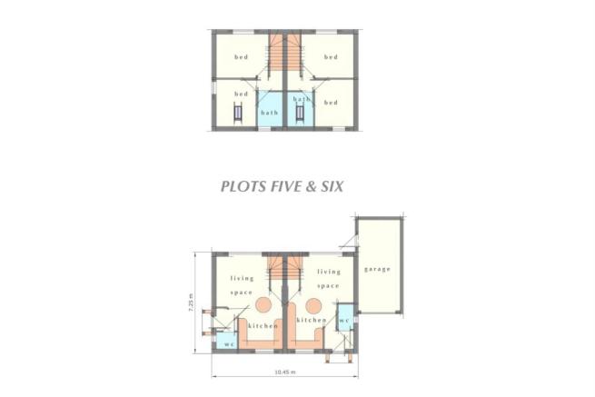 Plots 5 and 6  Floorplan