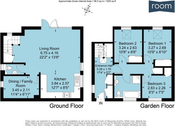 1G - Floorplan