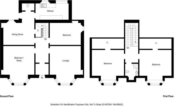 Denbrae, The Causeway, Kennoway - floor plan.JPG