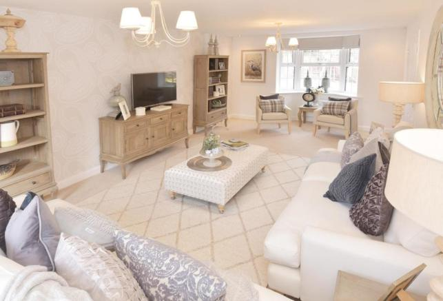 The Spinney Moorecroft Show Home Lounge