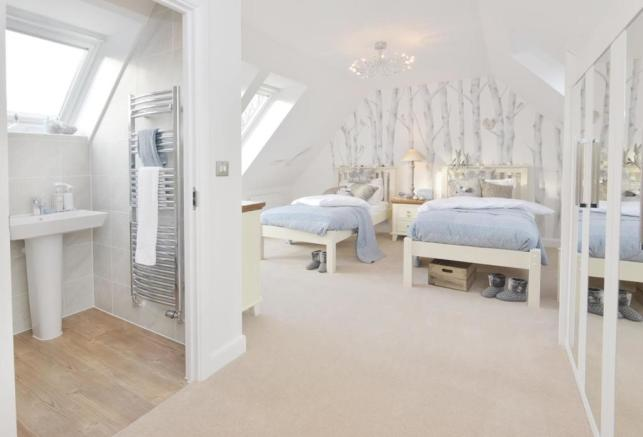 The Moorecroft Show Home Top Floor Bedroom