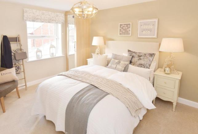 The Spinney Moorecroft Show Home Bedroom