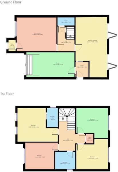 House type D Floor Plan