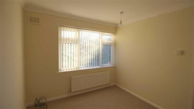 Bedroom No. 3 front: